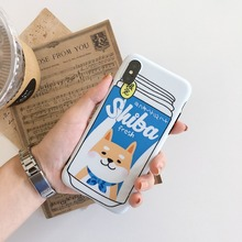 Shiba Inu Juice Cases for iPhone 6, 6s, 7, 8 Plus, X ,XR, XS Max