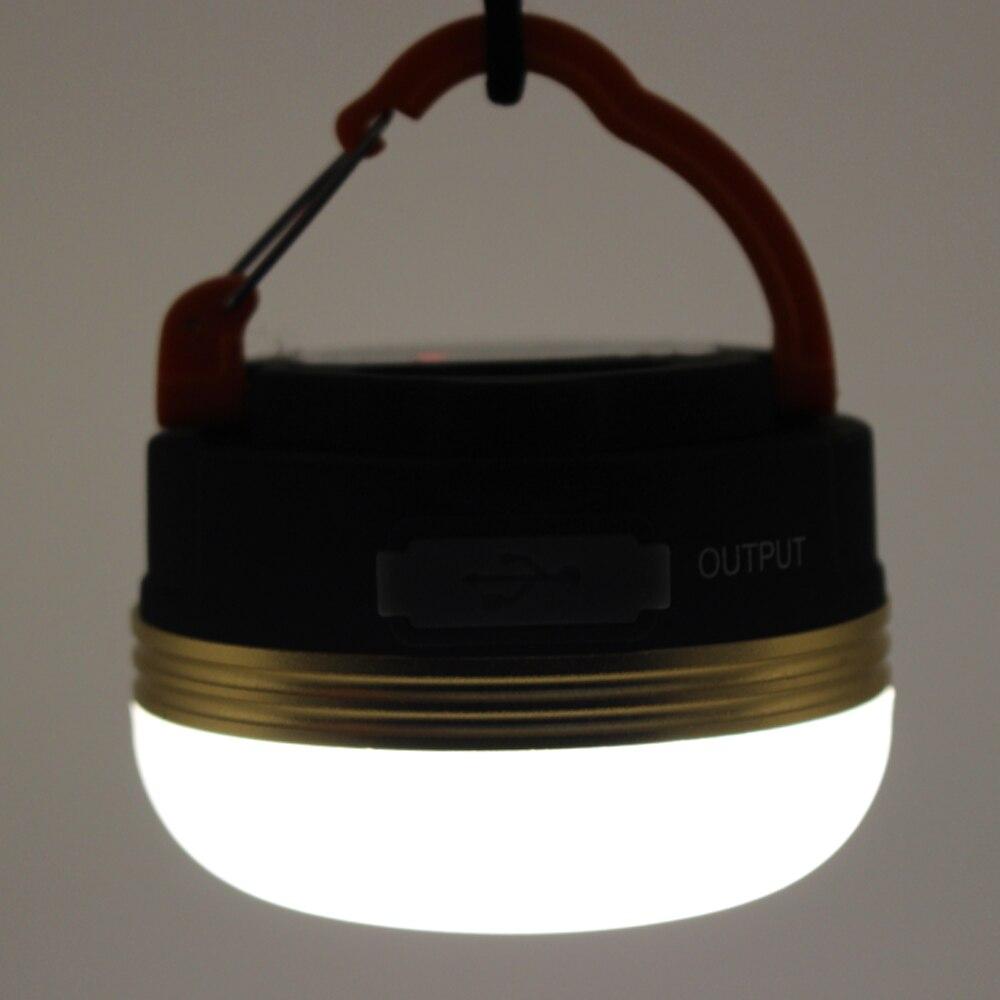 600 lumens 5WLED mini portable camping light flashlight USB rechargeable waterproof outdoor 3 mode lantern tent lights