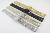 19mm T049417A T049407 T049410A Male WatchBand T CLASSIC Stainless Steel band Strap For T049