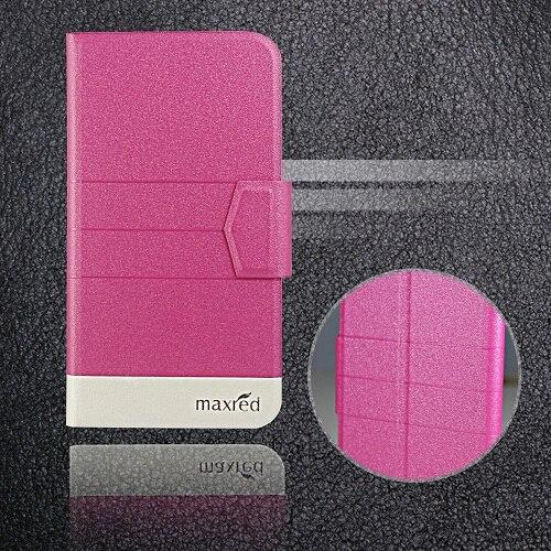 5 цветов хит! Кожаный чехол для телефона Digma LINX Atom 3g, заводская цена, защитный полностью откидной кожаный чехол с подставкой для телефона s - Цвет: Rose