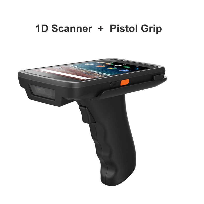 US $343 14 14% OFF|Industrial PDA Android 7 0 Tablet PC NXP NFC 13 56M Free  SDK Handheld Honeywell /Zebra 1D 2D PDA barcode scanner android-in