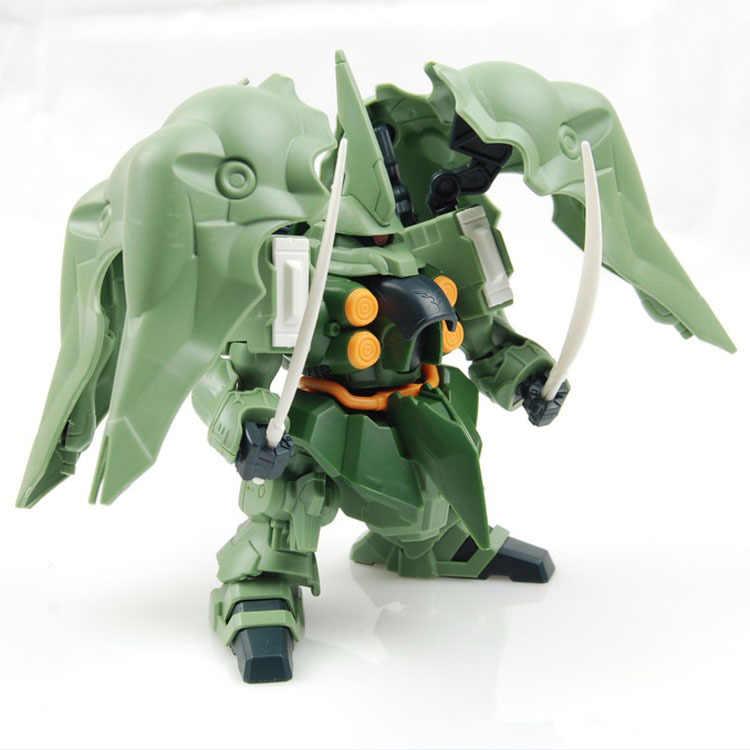 חם רובוט מלחמת uper מעוות Gundam Unicorn SD KSHATRIYA NZ-666 עצרת דגם צעצועי אוסף עבור בני מתנות