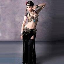 Belly Dance Dress Bra Waist Belt   Pants Clothes For Dancing 7 Colors Belly  Dancer Costume Roupa e361d8141f16