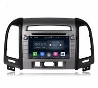 Octa Core 2 Din 7 Android 6 0 Car Audio DVD GPS For Hyundai SANTA FE