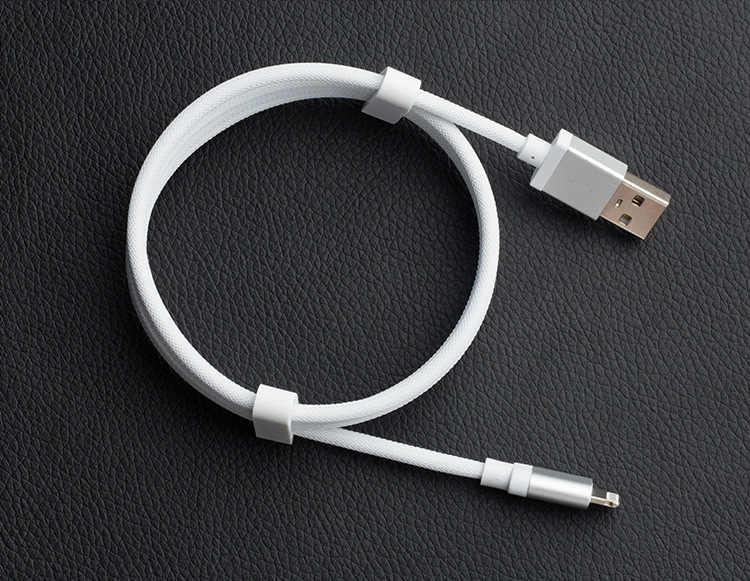 0.2 m 1 m 2 m 3 m كابل يو اس بي ل فون X 8 7 6 5 ل كابل iPhone USB 2.4A سريع شحن مزامنة البيانات كابلات ل شاحن آيفون كابل