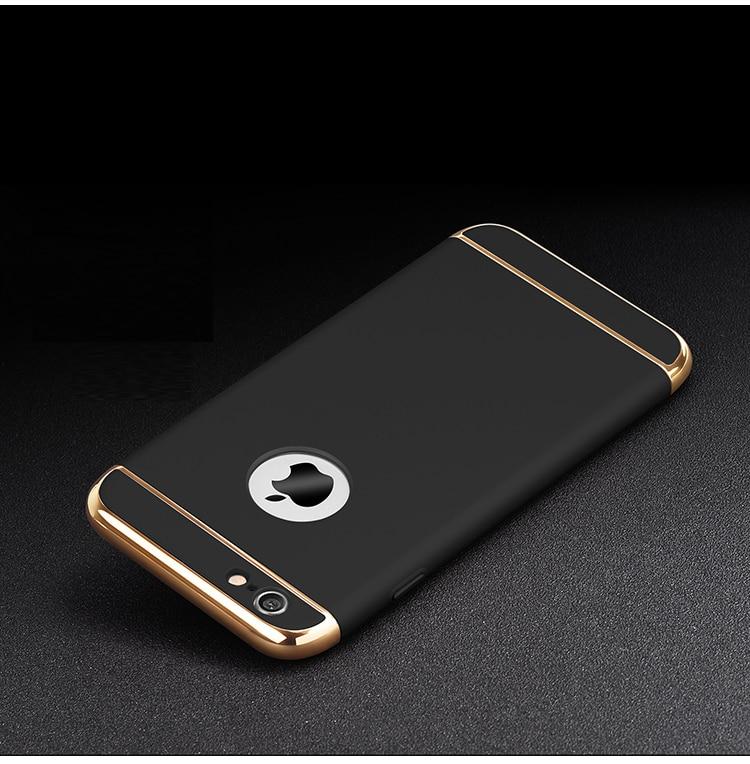 JAMULAR Hard Case Untuk iphone 7 6 6 S 5 S SE X 10 8 Ditambah Penutup - Aksesori dan suku cadang ponsel - Foto 5