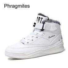 Phragmites pareja amante Zapatos blanco cuña zapatillas invierno alta  calidad bottines femme 2018 nouveau hip-hop danza de la ca. dad5388a08d