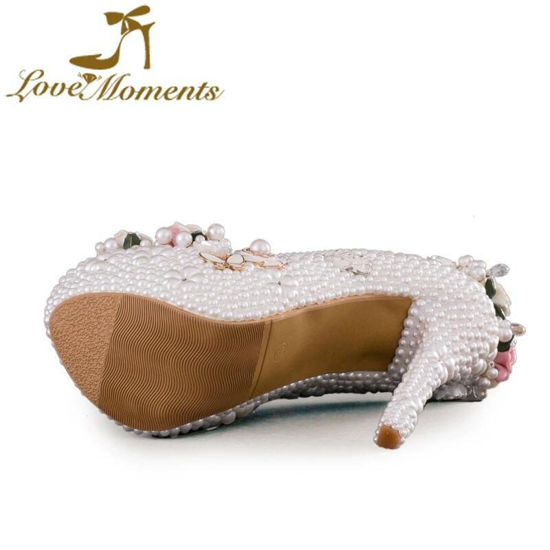 Chaussures Blanches Pour La Cérémonie Pour Les Femmes tMQePeF