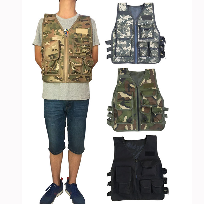 HYBON Security Outdoor Adult 55cm Hunting Tactical Vest CS Game Chest Rig Plate Carrier Military Training Combat Airsoft VestHYBON Security Outdoor Adult 55cm Hunting Tactical Vest CS Game Chest Rig Plate Carrier Military Training Combat Airsoft Vest