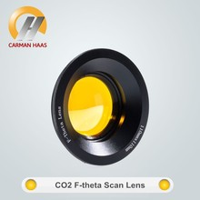 Carmanhaas High Quality Co2 Laser F-Theta Lens For Marking Machine ZnSe Scan