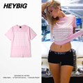 1-800-HOTLINEBLING Men Tshirts 2016 NEW Tops Hiphop Heybig Brand Cotton Tee China Sizing also for Customization and Wholesale