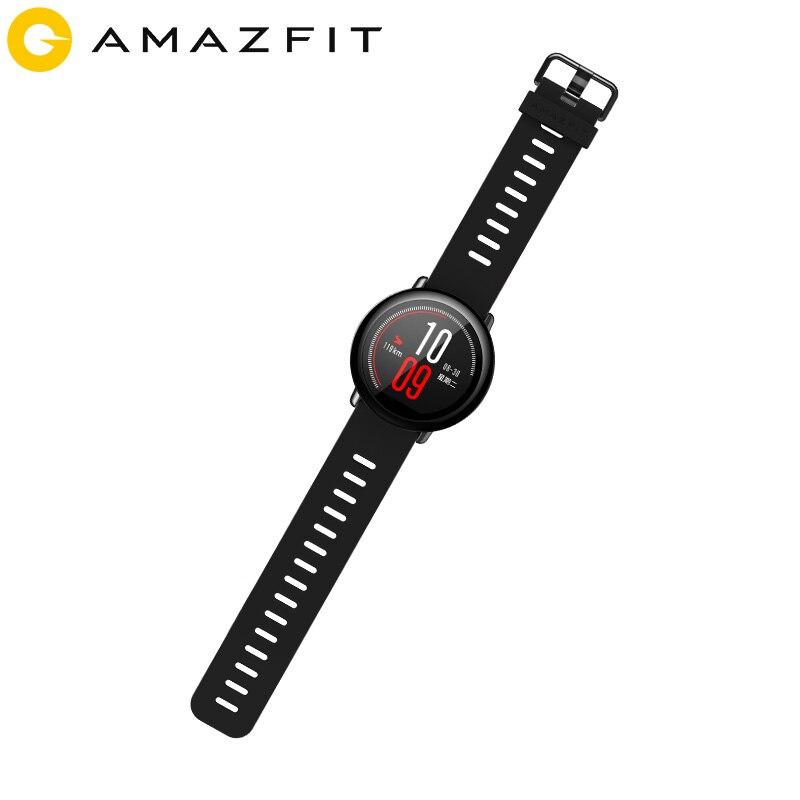 Huami Amazfit Pace Smartwatch Amazfit reloj inteligente Bluetooth GPS información Push Frecuencia Cardíaca Monitor inteligente - 4