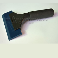 High Quality Long Handle Rubber Beaf Tendon Squeegee Window Film Install Squeegee