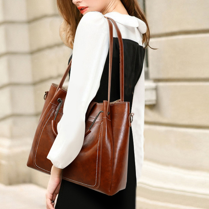 C&D Luxury New Fashionable Lady Bag Handbag With Shoulder Straddle Over With Three Pieces Of Belt