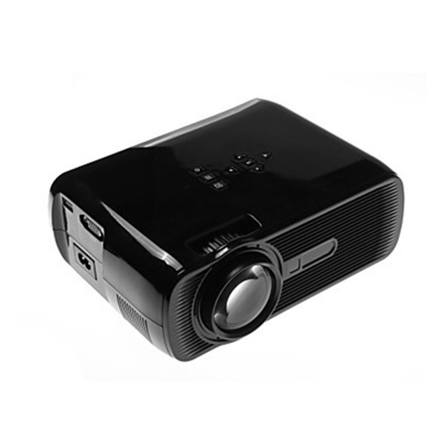Best Offers JP  Plug  Multimedia  TV Laptops Smartphones BL-80 Black  Mini LED Projector HD 1080P 1500 LM Home Theater Video Projector Home