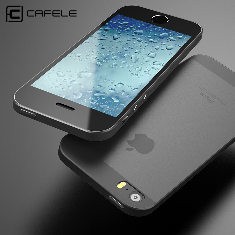 CAFELE Clear Case For iPhone SE 5S Cases Super Slim PP Phone Cover For iPhone SE 5 5S Ultra Thin Transparent flexibility shell