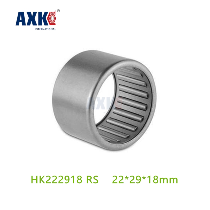 Axk Hk222918 Rs Hk222918rs Drawn Cup Caged Needle Roller Bearings Open End ,wtih Seal The Size Of 22 *29*18mm Cn250 Cf Moto bk3038 needle bearings 30 37 38 mm 1 pc drawn cup needle roller bearing bk303738 caged closed one end