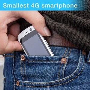 Image 3 - Unihertz ג לי פרו, הקטן ביותר 4G Smartphone בעולם, אנדרואיד 8.1 Oreo סמארטפון מיני טלפון עם 2GB RAM 16GB ROM לבן