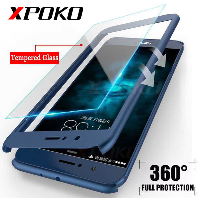best website f8f8b 70ab4 US $3.25 |360 Degree Protection Full Cover Phone Case For Huawei P10 Lite  P9 Plus Mate 10 Shockproof Cover For Honor 9 Lite Case Glass-in Fitted  Cases ...