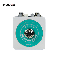 Guitar Effect Pedal Mooer Spark Delay Pedal Classic Analog Delay Up To 500 Milliseconds Of Delay