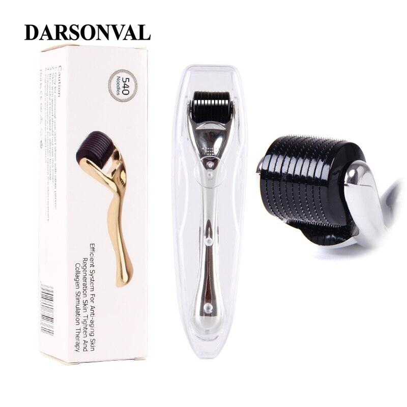 DARSONVAL DRS 540 micro aiguilles derma rouleau titane mezoroller microneedle machine pour les soins de la peau et le traitement du corps