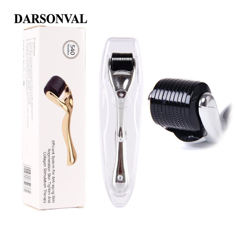 DARSONVAL DRS 540 micro needles derma roller titanium mezoroller microneedle machine for skin care and body treatment