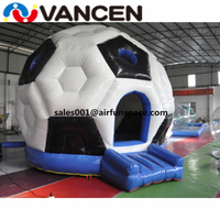 New design inflatable jumping bouncy 5*5m inflatable soccer dome tent bouncer good quality inflatable bouncer for kids