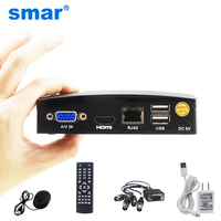 Smar Newest Mini 4CH CCTV DVR NVR AHD 1080N 5 In 1 Hybrid XVR For AHD