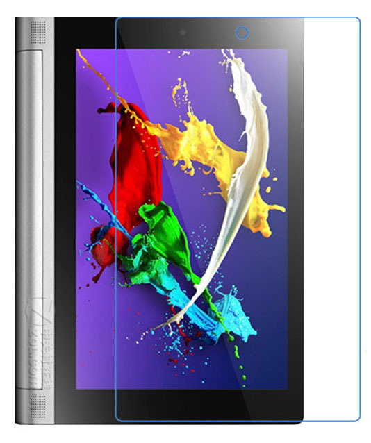 Galleria fotografica 2Pcs Clear Glossy LCD Screen Protector Protective Film For Lenovo Yoga Tablet 2 830 830F 830L 8.0 inch + Alcohol Cloth