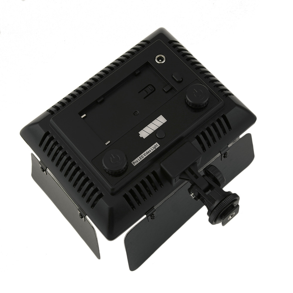 WS-368 Photographic Lamp LED Lamp Video Light Photo Lighting On Camera 23W 6300K For Sony NP-F Series Camcorder Camera