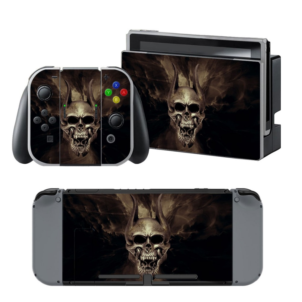 Newly Arrival Vinyl Skin Sticker for Nintendo Switch Console Protector Cover Decal Vinyl Skin for Skins Stickers 0064