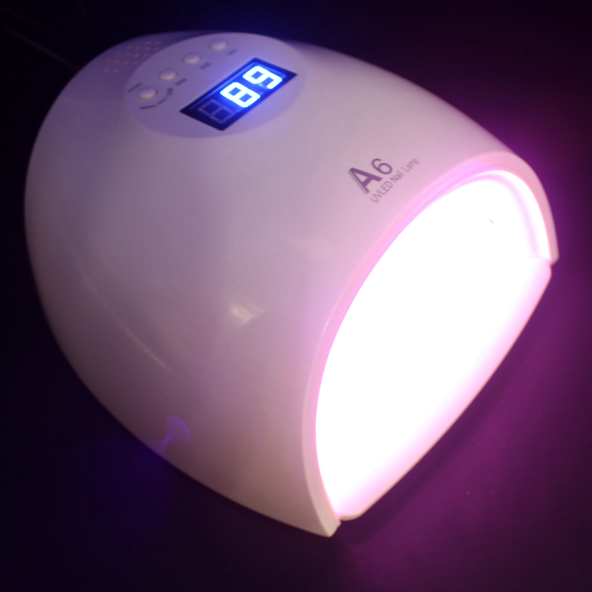 Red Light UV LED Nail Lamp for Nails 60W Dual Hand Lampa uv led Gel Nail Dryer Drying Machine Hot Sale shanghai kuaiqin kq 5 multifunctional shoes dryer w deodorization sterilization drying warmth