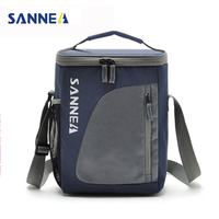 TANGIMP 8 8L Portable Insulated Lunch Bag Nylon Thermal Lunchbox Food Picinic Bag Cooler Tote Handbags