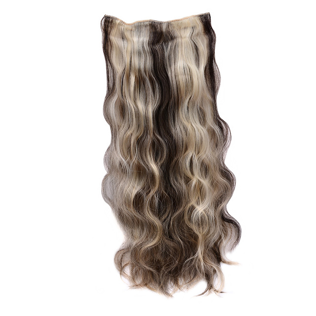 Free Shipping 24 60cm Long Curly Clip In Hair Extensions Hairpiece
