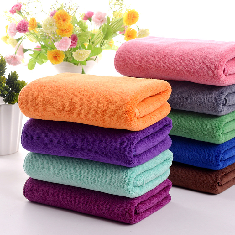 New Thicken 35 75cm High Absorbent Microfibre Dry Hair Beauty Salon Towels Toalla cabello Car Towel