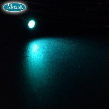 Maykit Side Emit 12mm Cable De Fibra óptica De Núcleo Sólido Para Señal De Piscina Lado De Fibra De Brillo Extremo 5 Metros Por Pieza