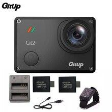 Gitup Git2 Pro 2 K 30fps 1080 P Câmera de Ação de Esportes Wi-fi À Prova D' Água Ao Ar Livre remoto Cam + Dual Carregador de Bateria + 2 Pcs Bateria Extra