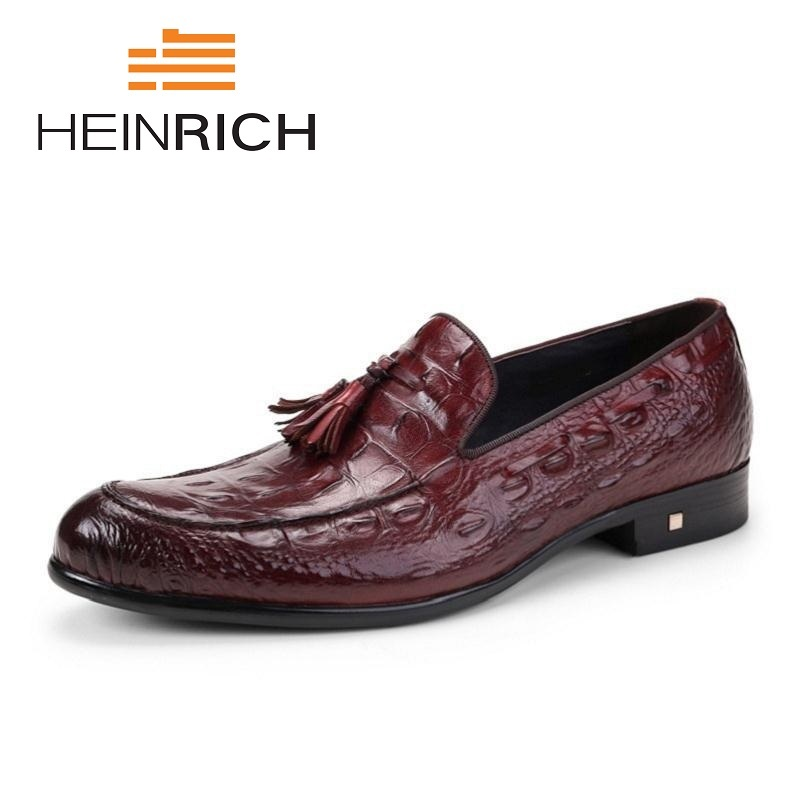 HEINRICH Spring Male Dress Shoes Fashion Designer Genuine Leather Shoes Men Business Breathable Leather Men Shoes Sapato SocialHEINRICH Spring Male Dress Shoes Fashion Designer Genuine Leather Shoes Men Business Breathable Leather Men Shoes Sapato Social