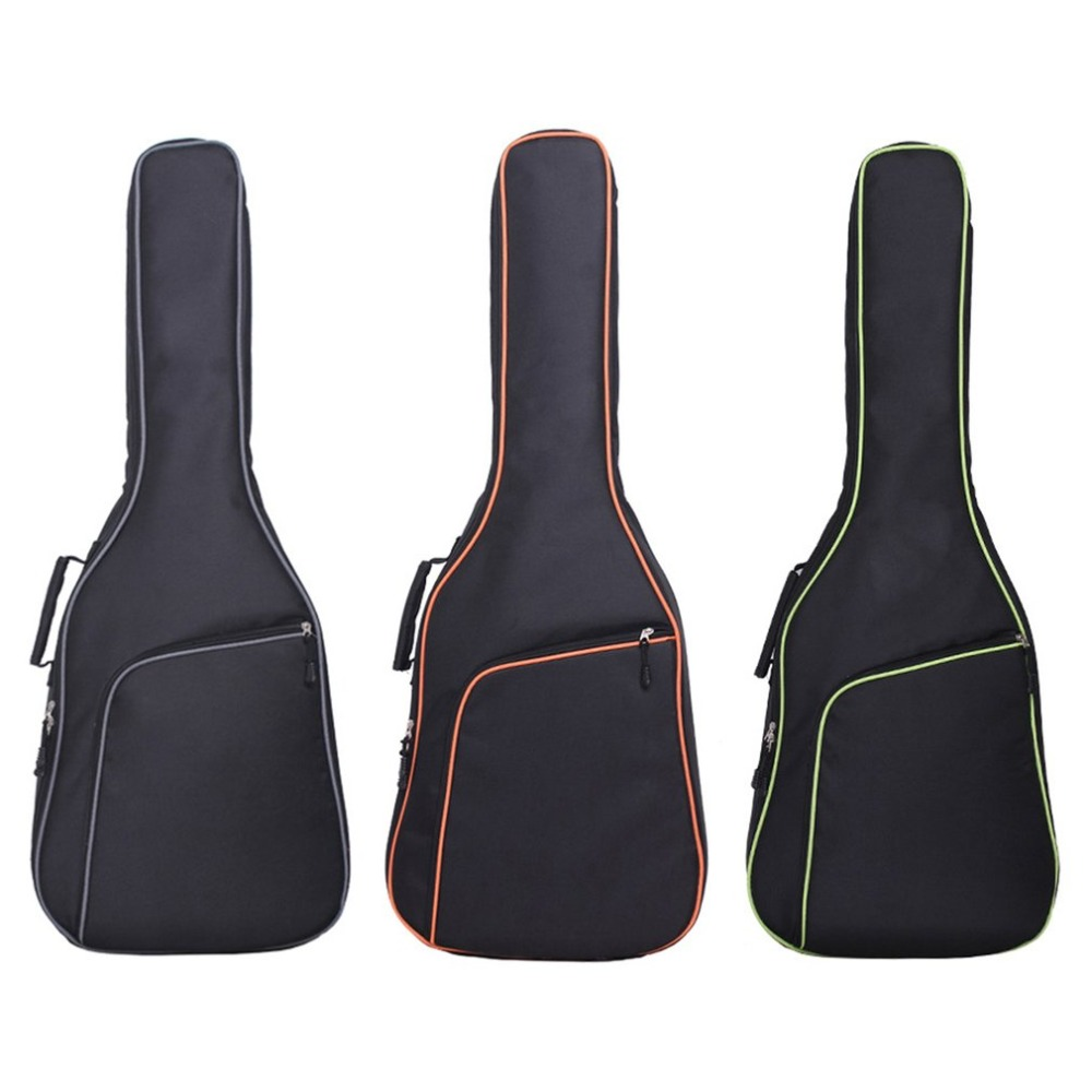 Thicken Folk Flattop Balladry Steel-string Acoustic Classical 39 41 inch Guitar Bag Case Backpack Accessories Carry Gig 41 inch classical acoustic guitar back carry cover case bag 5mm shoulder straps
