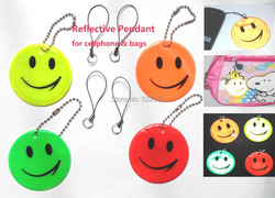 Wholesale 50pcs lot smile face model reflective pendant soft reflector for motorcyle rider 4 colors available.jpg 250x250