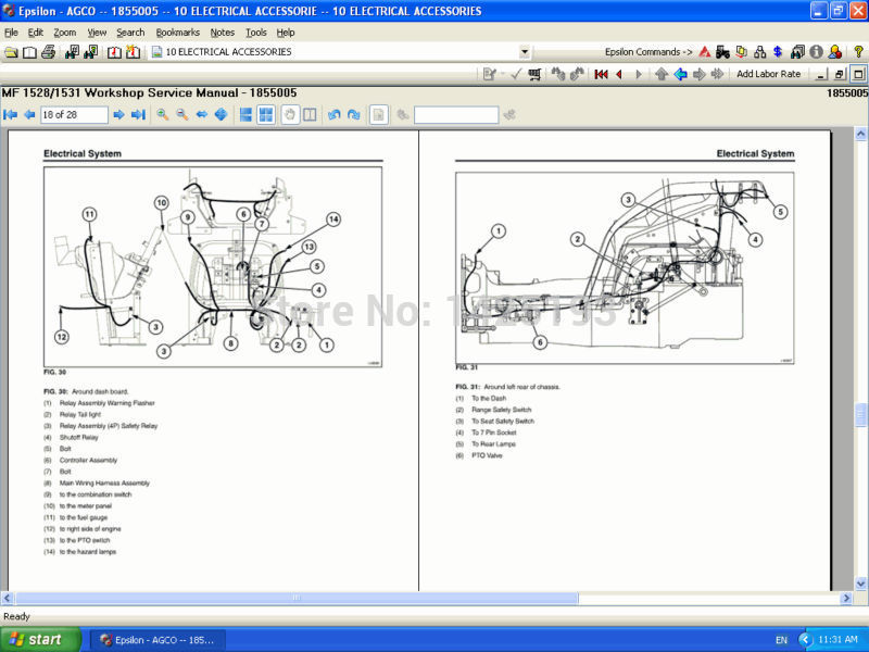 massey ferguson repair manuals usa 2018 na in software from rh aliexpress com Massey Ferguson Tractor Troubleshooting Massey Ferguson 1105 Tractor
