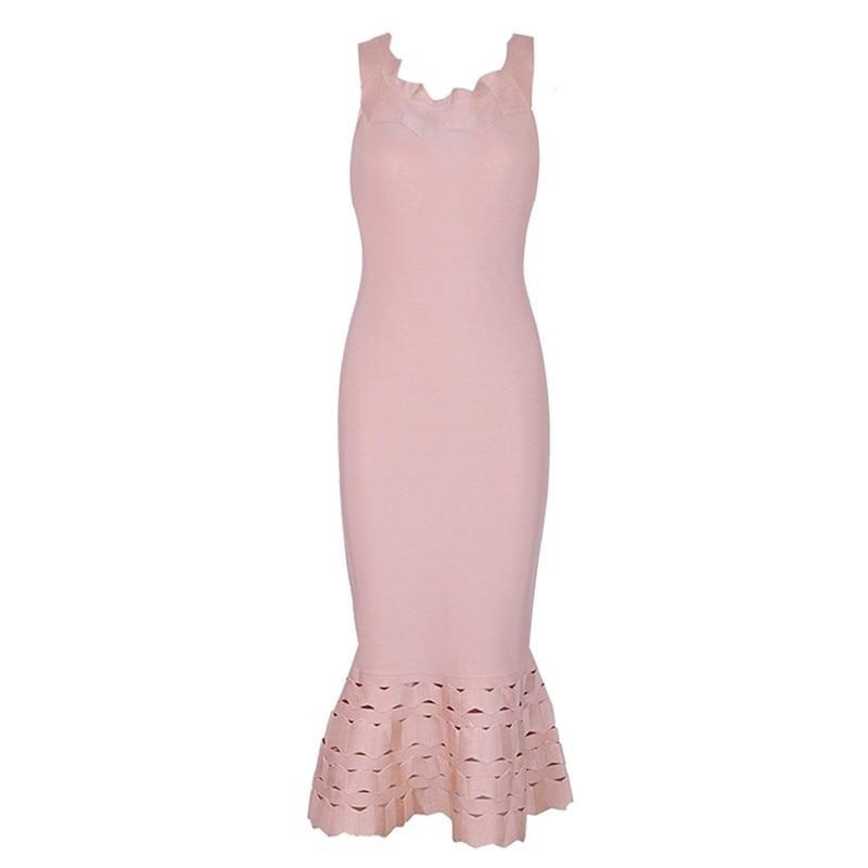 Pour Midi Sans Sexy Slash Cou Robe Femmes Off Dress Taille Manches D'été Haute De Dress Robes Mode Épaule Pink Vgh red Vêtements Évider dOq8IwO