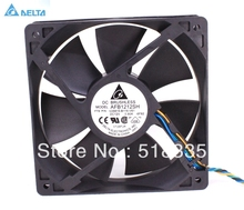 Free shipping for delta fan AFB1212SH 12CM 120MM 1225 12025 12*12*2.5CM 120*120*25MM  12V 0.80A Cooling Fan Good Quality