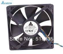 Бесплатная доставка для вентилятора delta AFB1212SH 12 см 120 мм 1225 12025 12*12*2,5 см 120*120*25 мм 12 В а Вентилятор охлаждения хорошего качества