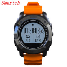 Smartch S928 Real-time Heart Rate Monitor Tracker GPS Smart Watch Air Pressure Environment Temperature Height Sports Watch Smart