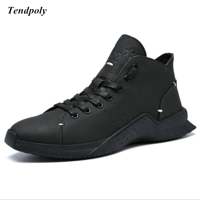 2018 New Autumn winter the latest fashion classic men's hot hot burst soft leather casual shoes flat lace massage insole shoes mulinsen latest lifestyle 2017 autumn winter men