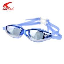 JAZERO Men Swimming Goggles Professional Myopia Anti Fog UV Protection Swim Eyewear Electroplate Waterproof Swim Glasses For Men