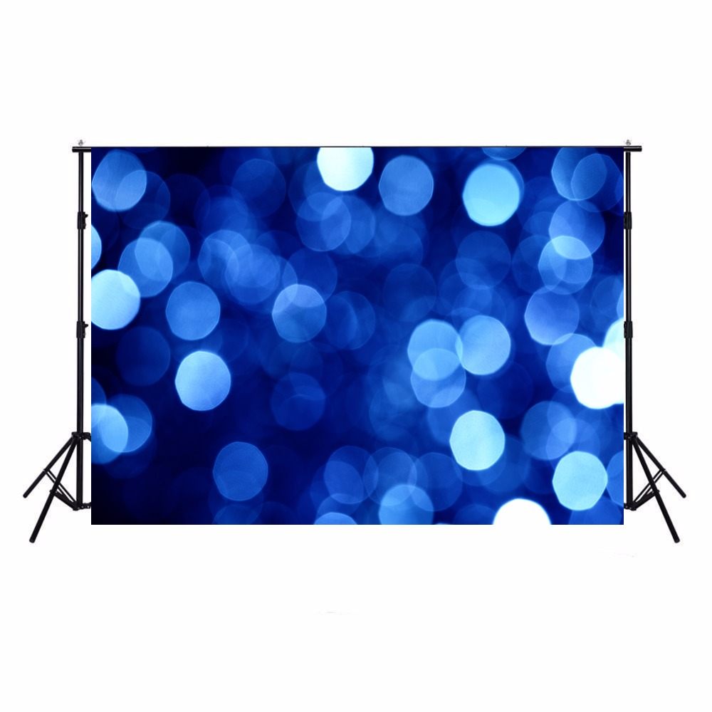 Blue Sparkle Photography Backdrops Vinyl Backdrop For Photography Boys Camera Fotografica Bokeh Background For Photo Studio ashanks photography backdrops white screen 3 6m photo wedding background for studio 10ft 19ft backdrop for camera fotografica