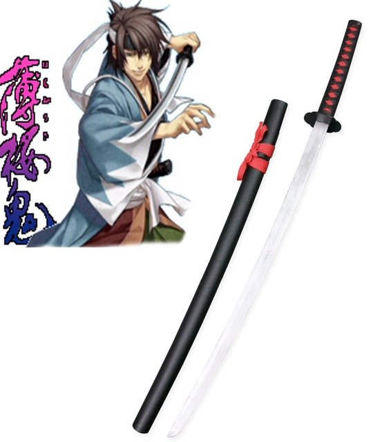 Hakuouki Okita Souji Shinsengumi Blade Cosplay Wooden Weapons