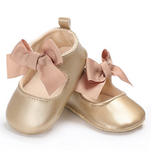 High Quality 0-18M Toddler Baby Girl Shoes Soft PU Princess